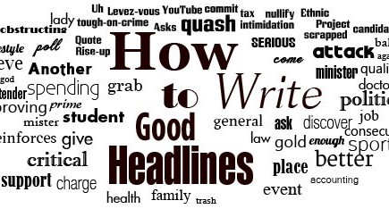 7 Crucial Rules For Good Headlines